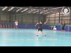 Passing yrs) - Inside and outside pressure exercise in group of 3 The Outsiders, Basketball Court, Exercise, Sports, Youtube, Group, Handball, Ejercicio, Hs Sports