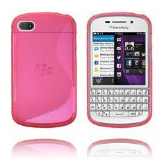 S-line (Rød) BlackBerry Deksel Blackberry Q10, Line, Cover, Fishing Line
