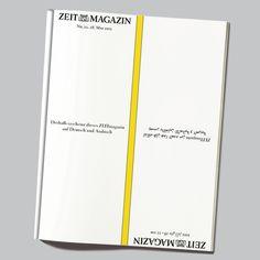 Nr. 22 / 15 - Deshalb erscheint dieses ZEITmagazin auf Deutsch und Arabisch