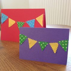 Day 12 - A string of bunting cards