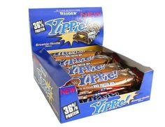 Weider yippie bar - 12 barritas de 70g con 36% de proteína Weider