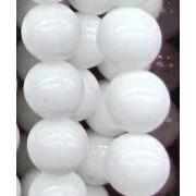 white jade bead, round approx dia, per st White Jade, Jade Beads, Saints