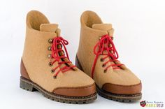 Felt Boots, Hiking Boots, Shoes, Fashion, Moda, Zapatos, Shoes Outlet, Fasion, Footwear
