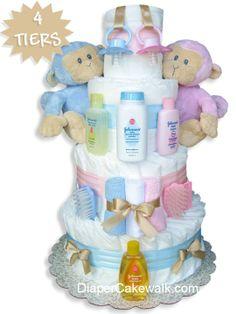 Diaper cake for boy or girl