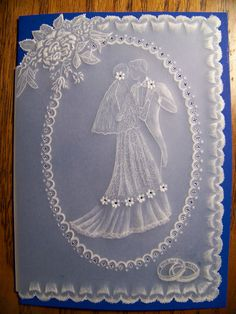 Wedding card - James Colter