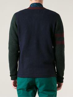 c0c30ad3c Lacoste Live Colour Block Cardigan. Colour Block