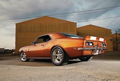 musclecarblog:  (via 1968 Chevrolet Camaro SS Pro Touring by...