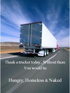 LIKE Progressive Truck Driving School: http://www.facebook.com/cdltruck #trucking #truck #driver   Truckers keep America going