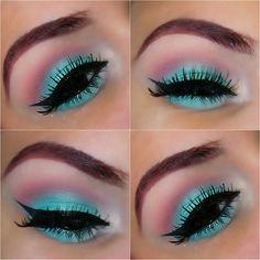 Makeup Look Using Mac Aquadisiac Eyeshadow https://www.makeupbee.com/look.php?look_id=87079