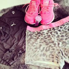 Pink shoes<3 #Workout #Clothes #exercise