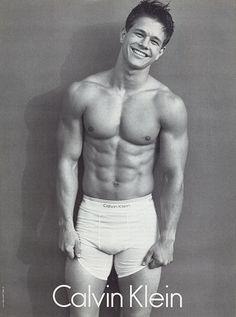 Mark Wahlberg for Calvin Klein in 1992 #ThrowbackThursday #tbt