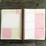 30 day Creative Planner and Notebook. Limited Edition Golden Heart