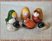 Nativity,  mini crèche poupée Russe par smaksall