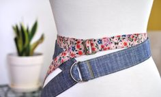 Just For You Sewlebrity Sewalong: The Topstitched Belt Sewn by Lillyella — SewCanShe | Free Daily Sewing Tutorials