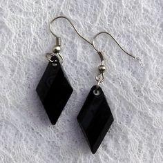Brincos Losango - Diamond Shape Earrings | Beat Bijou | Elo7