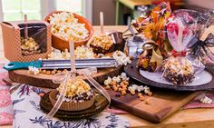 Home & Family - Recipes - Butterscotch Popcorn Balls | Hallmark Channel  9/30