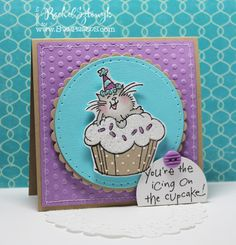 Gingerbread Gallery: Stampendous Saturday Challenge - Texture!!!