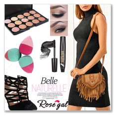 """""""Rosegal"""" by semiragoletic ❤ liked on Polyvore featuring Beauty, makeup, women and rosegal"""