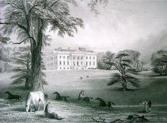 View of Claremont near Esher, Surrey, c.1810.
