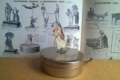 1906 Gamages mechanical  'Magic Box' Germany bing gunthermann works box Magic Box, Tin Toys, It Works, Germany, Deutsch, Nailed It