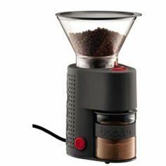 Bodum, elektrisk kaffekvern sort - Kaffekverner - Kitchn.no