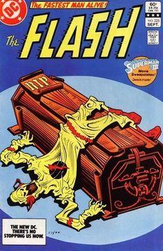 "The Flash #325 ""DEAD RECKONING!/""Warning:Danger Ahead!"" September 1, 1983."