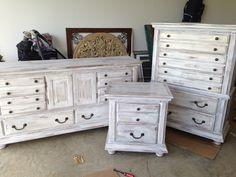 Antiqued furniture