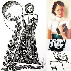 Use your imagination. Inspiratiebron: de betoverende illustratie van de Canadese Janet Hill. Het verhaal bij de tekening is aan jou om in te…