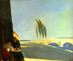 Le Bistro (1909) by Edward Hopper