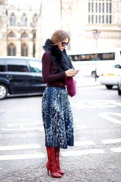 Olivia Palermo #winterwardrobe
