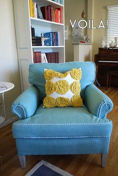 Reupholstering Tutorial
