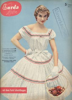 1955 dress fashion