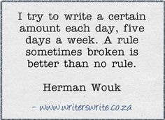 Quotable - Herman Wouk - Writers Write Creative Blog