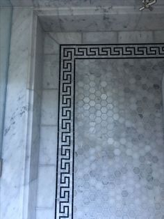 LOVE all the different marble patterns, but HOLY GROUT on the floor!