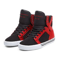 SUPRA KIDS SKYTOP Shoe   ROYAL / NAVY / RED - WHITE   Official SUPRA Footwear Site