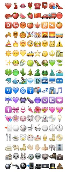 Emoji icons by colors Art Print by Gal Raz