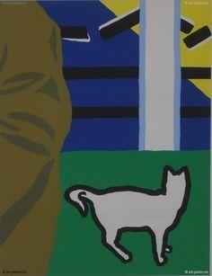 RAVEEL Roger | Gras, kat, blauw...,
