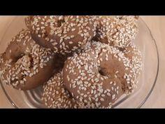 Κουλουράκια λαδιού που θα λατρέψετε!! - YouTube Bagel, Doughnut, Favorite Recipes, Bread, Cookies, Desserts, Youtube, Food, Crack Crackers