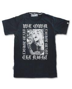 Liquor Brand Herren WE OWN THE NIGHT T-Shirt.Tattoo,Custom,Biker,Oldschool Style