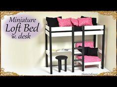 Miniature Loft Bed Tutorial | Creating Dollhouse Miniatures | Bloglovin'
