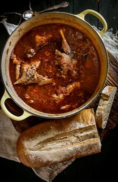 Rabbit Stew by Eva Kosmas, via Flickr - substitute rabbit with organic chicken