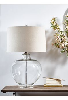 Edie Glass Table Lamp