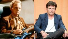 The Back To The Future Part 2 makeup dept. didn't think Michael J Fox would age this well.