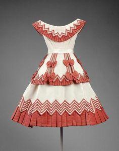 Girl's dress ca. 1865 via The Museum of Fine Arts, Boston