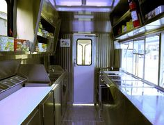 food truck interior More