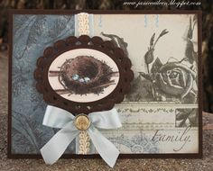 Made to Create - card made using stamp set Nesting