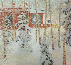 Anatolij Dmitrievič Kajgorodov, Winter morning, 1913. Oil on canvas. Russia.© Photo:Nationalgalerie der Staatlichen Museen zu Berlin - Preußischer Kulturbesitz,Andres Kilger. Winter is coming.