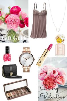 Be my Valentine - Gift Guide.