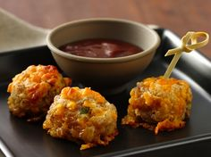Little Sausage Cheese Balls - **be sure the read the tips at the bottom of the recipe** (Turkey Cheese Ball)