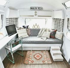 Twin bed sized seating area